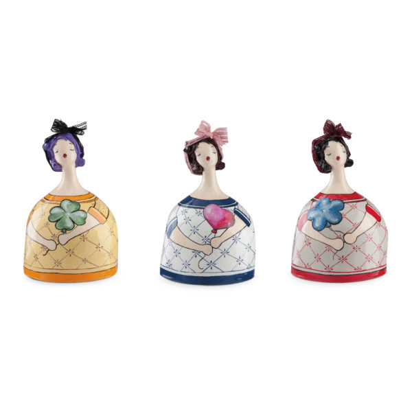 SET 3 MIXED MONEY-BOXES LE PUPAZZE WITH BALLOONS 16X22