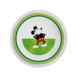 MICKEY I AM D.31 GREEN PIZZA PLATE