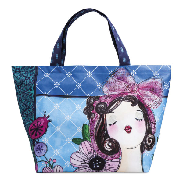 LE PUPAZZE TURQUOISE BAG 55X45